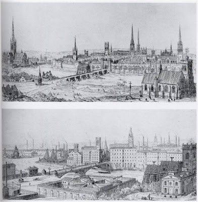 Contrasted Towns in Contrasts by AWN Pugin